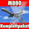 CLS - MD-80 KOMPLETTPAKET DEUTSCH