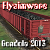 FLYSIMWARE LLC - GONDOLA RAILCAR SET FOR MSTS