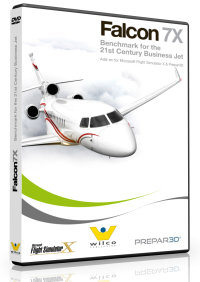 WILCO PUBLISHING - FALCON 7X V2 FSX P3D
