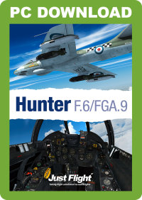 JUSTFLIGHT - HUNTER F.6/FGA.9 FSX P3D