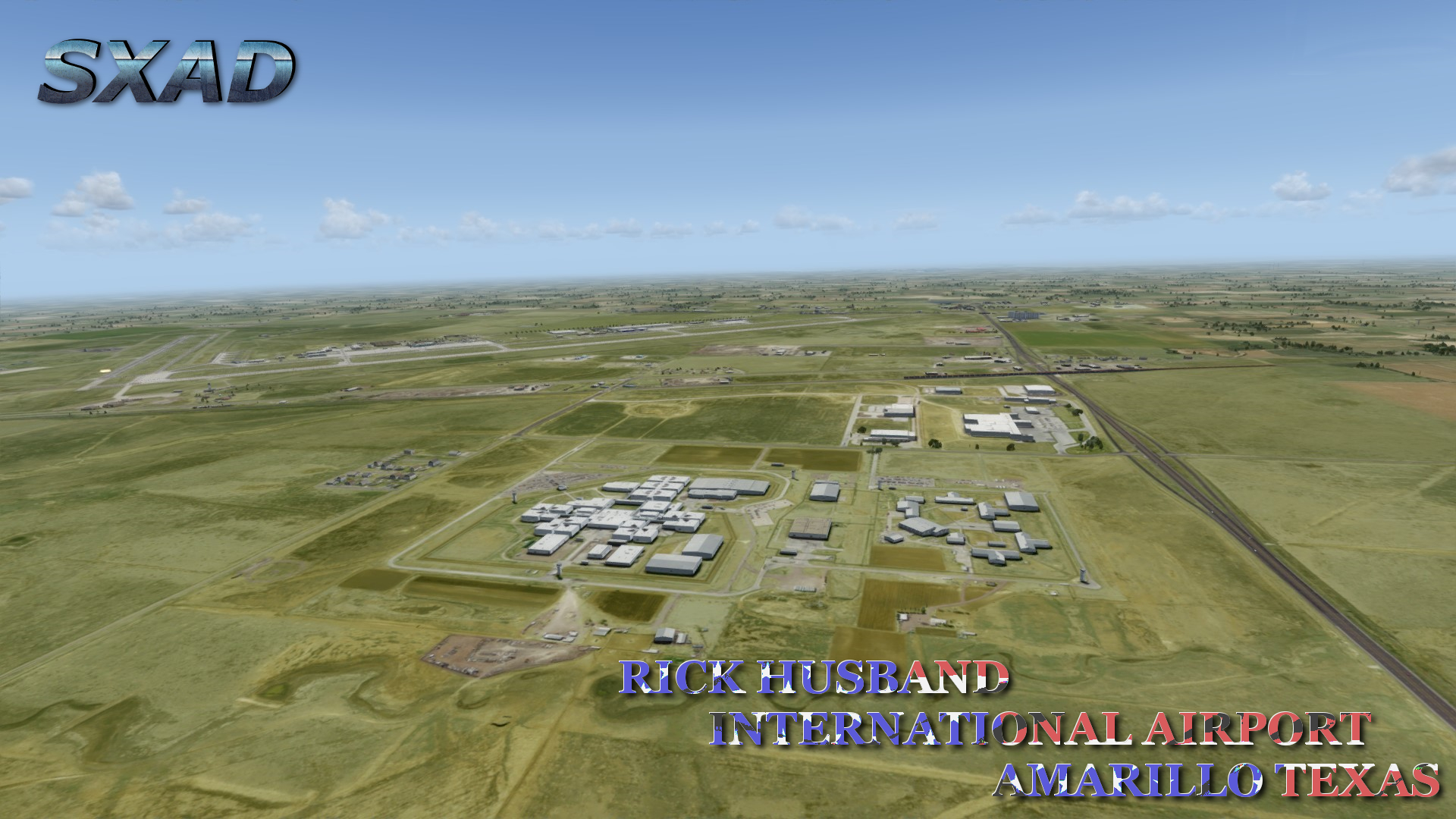 SXAIRPORTDESIGN - RICK HUSBAND AMARILLO INTERNATIONAL AIRPORT FSX P3D