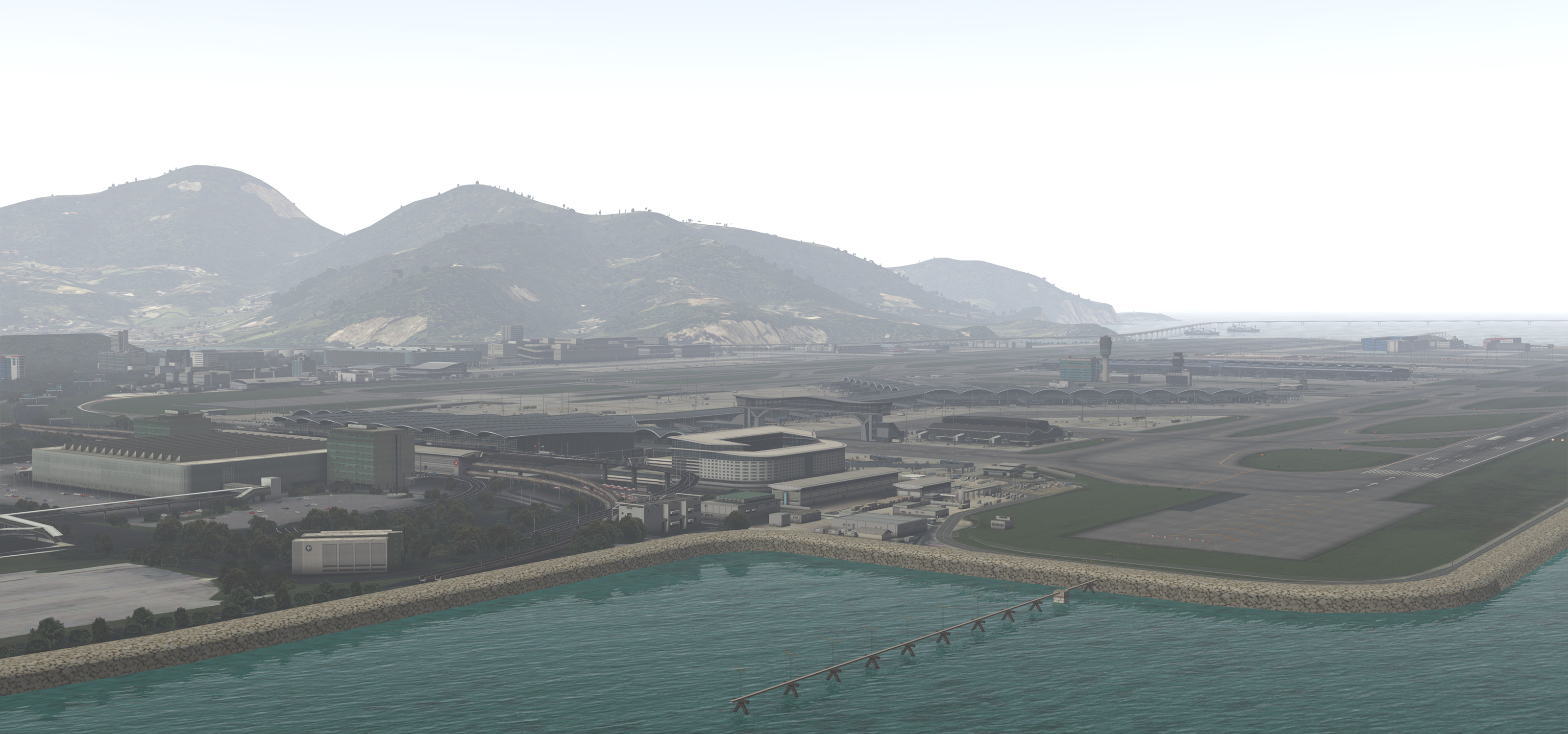 TAXI2GATE - VHHH V2 - HONG KONG INTERNATIONAL AIRPORT P3D