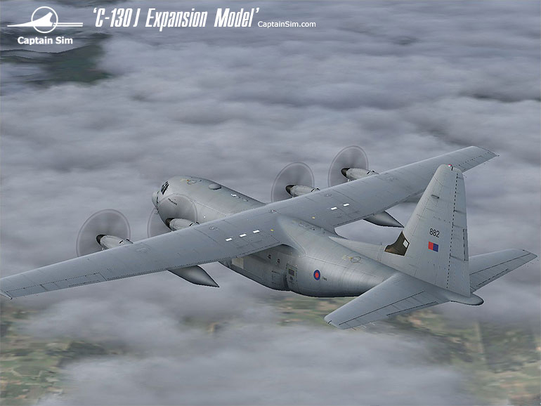 CAPTAIN SIM - C-130J EXPANSION MODEL