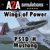 A2A SIMULATIONS - WINGS OF POWER P51D/H MUSTANG