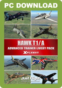 JUSTFLIGHT - HAWK T1/A ADVANCED TRAINER LIVERY PACK X-PLANE 11