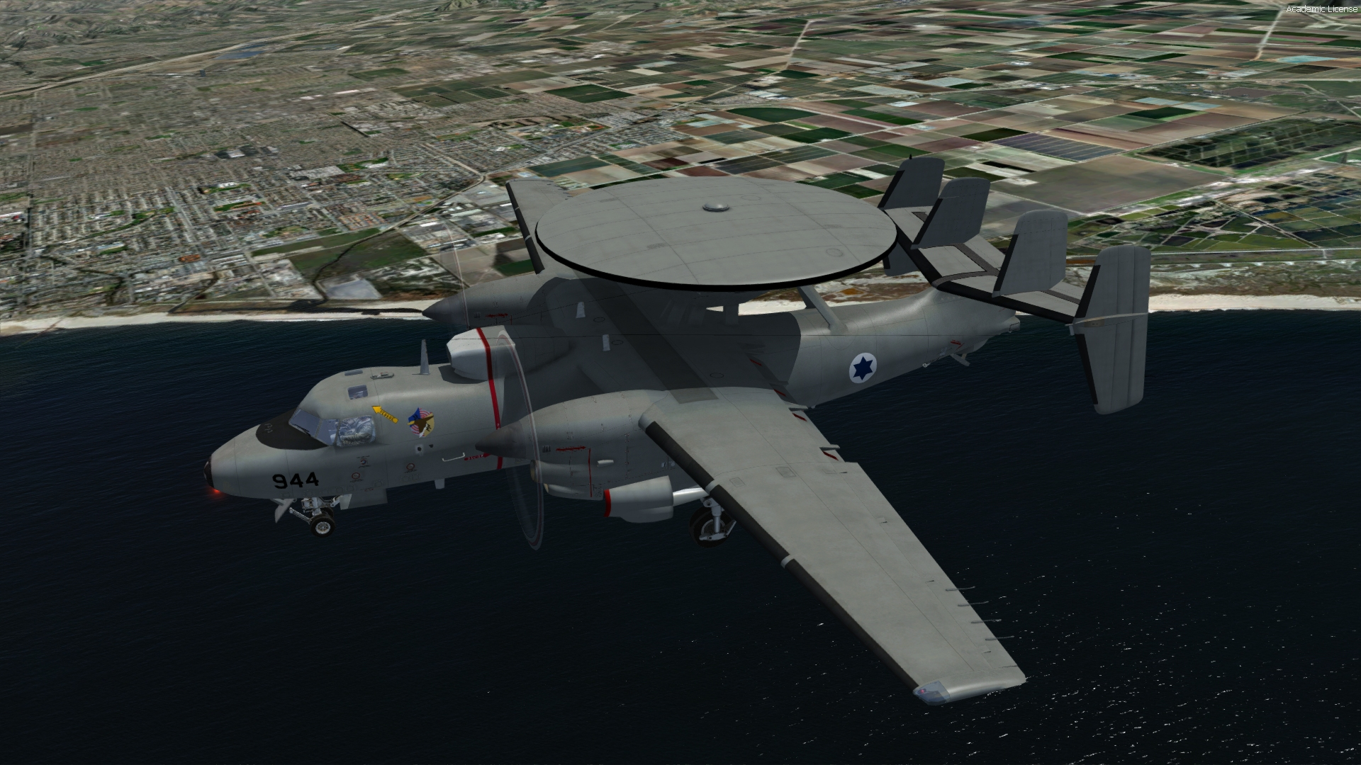 INDIAFOXTECHO - E-2 HAWKEYE - C-2 GREYHOUND PACKAGE
