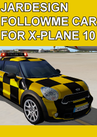 JARDESIGN - FOLLOWME CAR 引导车插件 X-PLANE 10/11