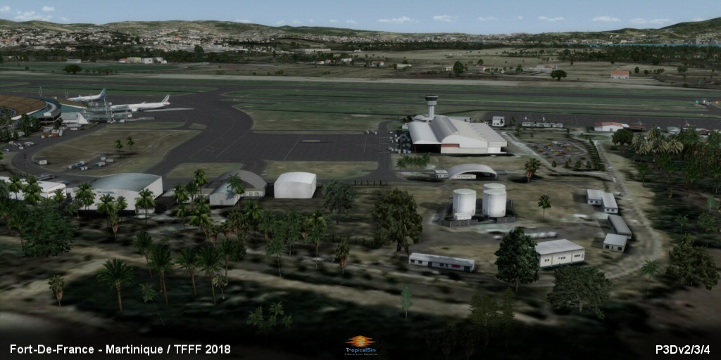 TROPICALSIM - FORT-DE-FRANCE MARTINIQUE TFFF 2018 FSX P3D