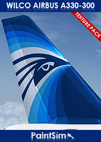PAINTSIM - ULTRA HD TEXTURE PACK 5 FOR WILCO AIRBUS A330-300 FSX