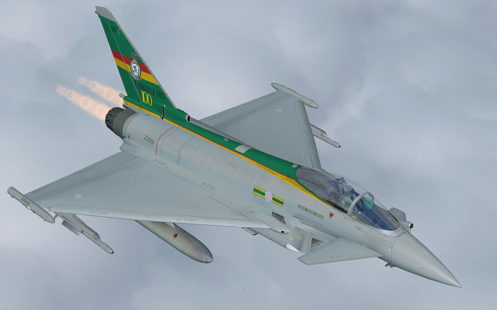 AFS-DESIGN - EUROFIGHTER TYPHOON PROFESSIONAL 6 FSX