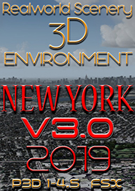 REALWORLDSCENERY - NEW YORK 3D ENVIRONMENT V3.0 2019