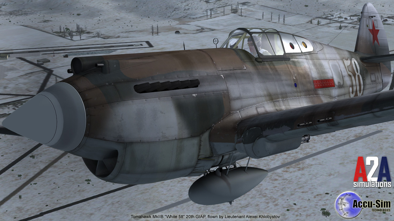 A2A SIMULATIONS - WINGS OF POWER 3 - P-40