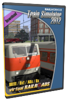 VIRTUAL RAILROADS - BR111 Bxf / ABx / Bx GREY-ORANGE EXPERT LINE