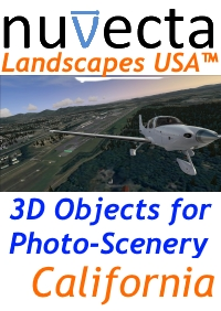 NUVECTA - LANDSCAPES USA™ CALIFORNIA FSX P3D