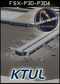 FSXCENERY -   KTUL TULSA INTERNATIONAL AIRPORT FSX P3D