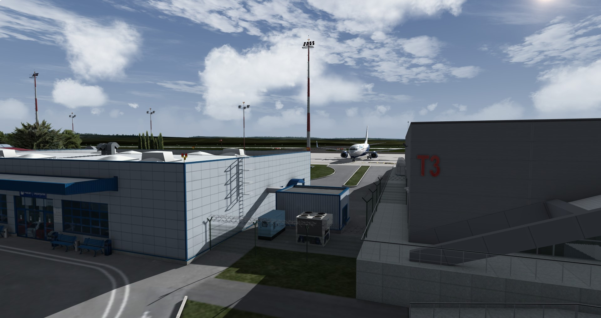 MLD SCENERY - LRIA - IASI INTERNATIONAL AIRPORT P3D