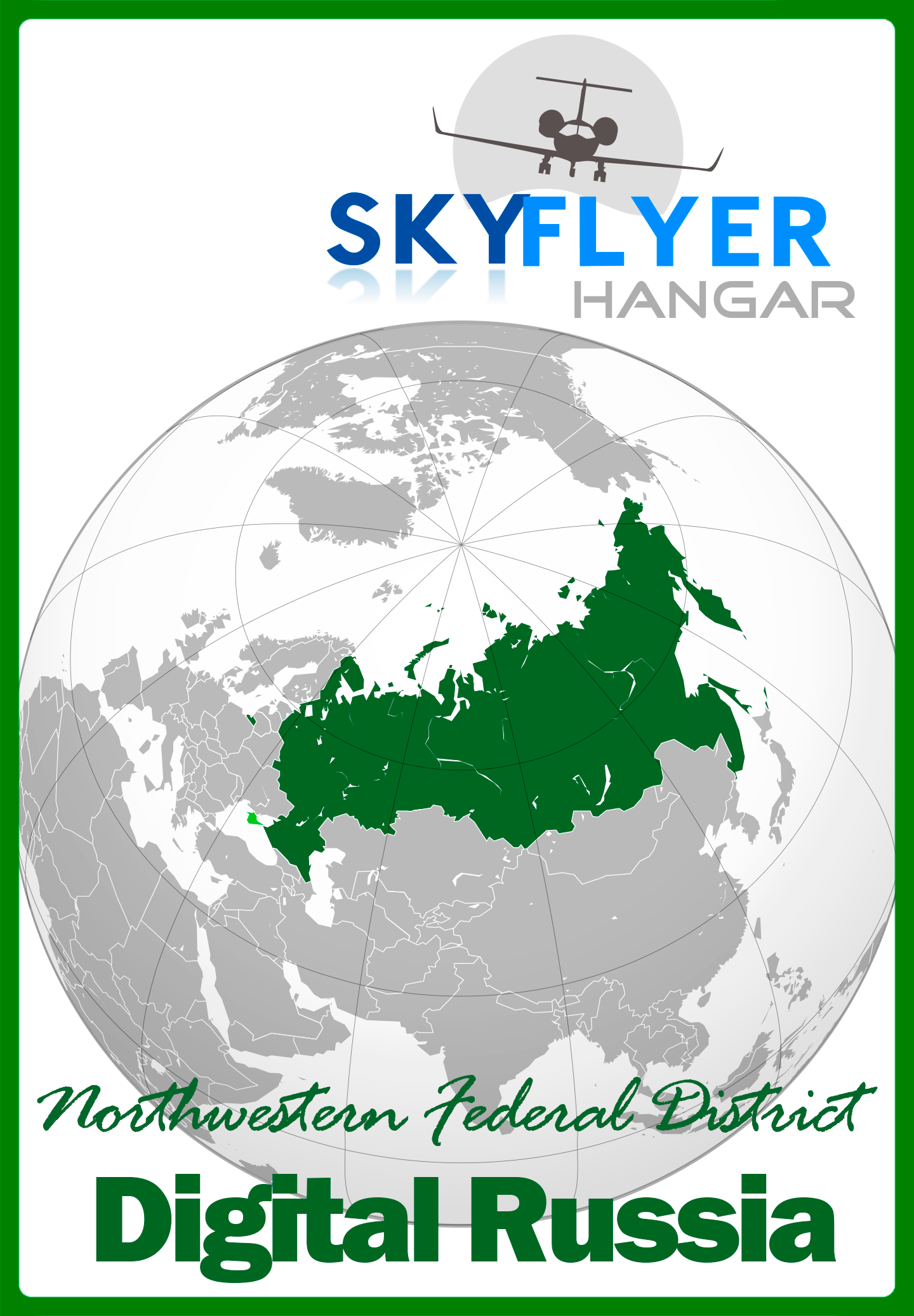 SKY FLYER HANGAR - DIGITAL RUSSIA NORTHWESTERN FEDERAL DISTRICT P3D