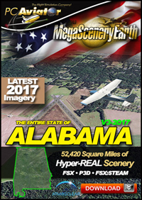 MEGASCENERYEARTH - ALABAMA V3 2017