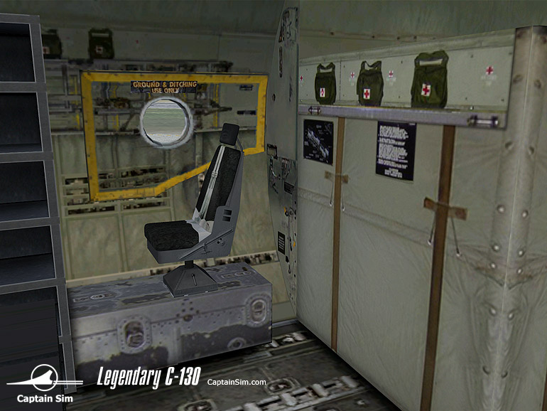 CAPTAIN SIM - AC-130E SPECTRE EXPANSION MODEL