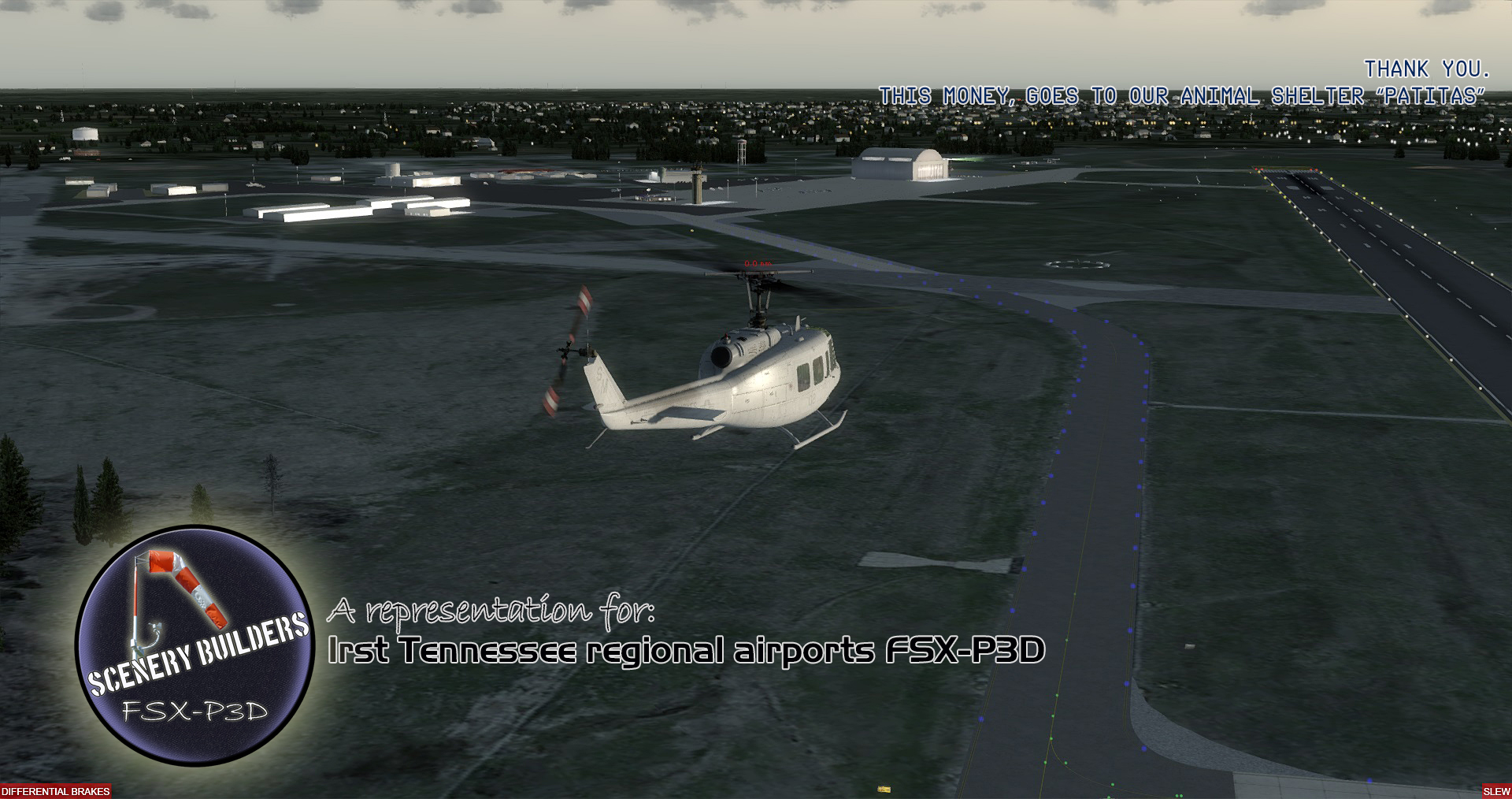 FSXCENERY -   1ST TENNESSEE REGIONAL AIRPORTS PACK (4) FSX P3D