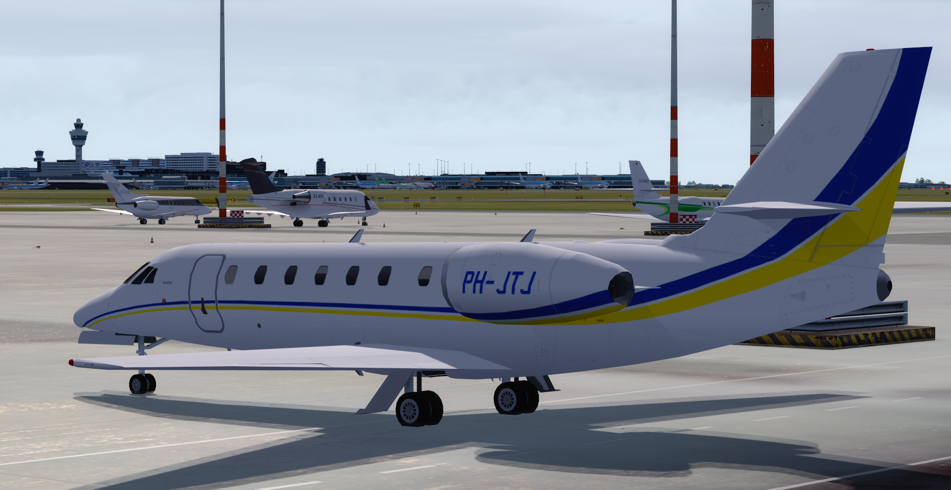 DFAI DEVELOPPEMENT - CESSNA SOVEREIGN 680, SOVEREIGN +, SOVEREIGN TAMARACK FS9 FSX P3D