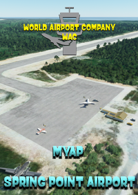 WORLD AIRPORT COMPANY - MYAP - SPRING POINT AIRPORT - BAHAMAS MSFS