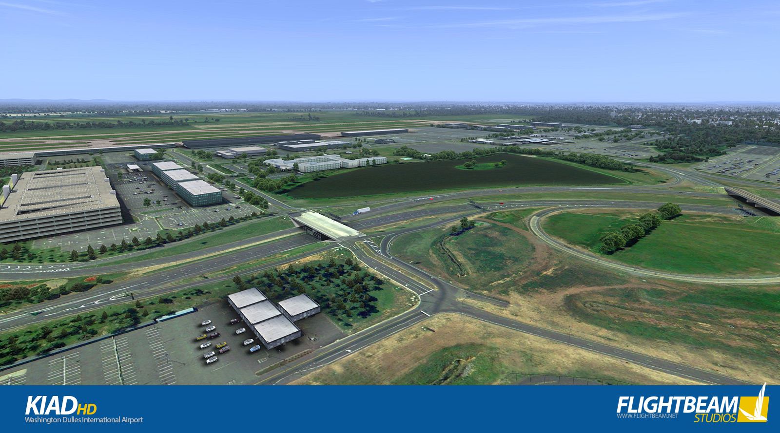 FLIGHTBEAM STUDIOS - KIAD - WASHINGTON DULLES INTERNATIONAL AIRPORT FSX P3D
