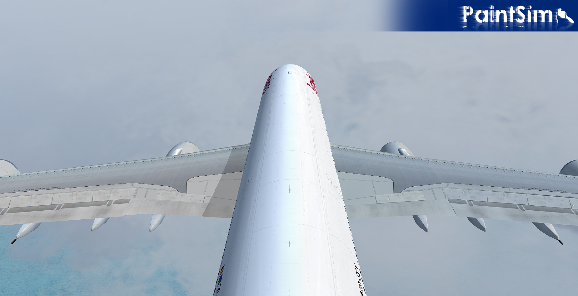 PAINTSIM - UHD TEXTURE PACK 7 FOR WILCO AIRBUS A330/340 FSX