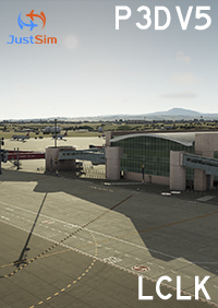 JUSTSIM - LARNACA INTERNATIONAL AIRPORT LCLK P3D5