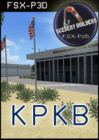FSXCENERY -  KPKB MID OHIO VALLEY REGIONAL AIRPORT FSX P3D