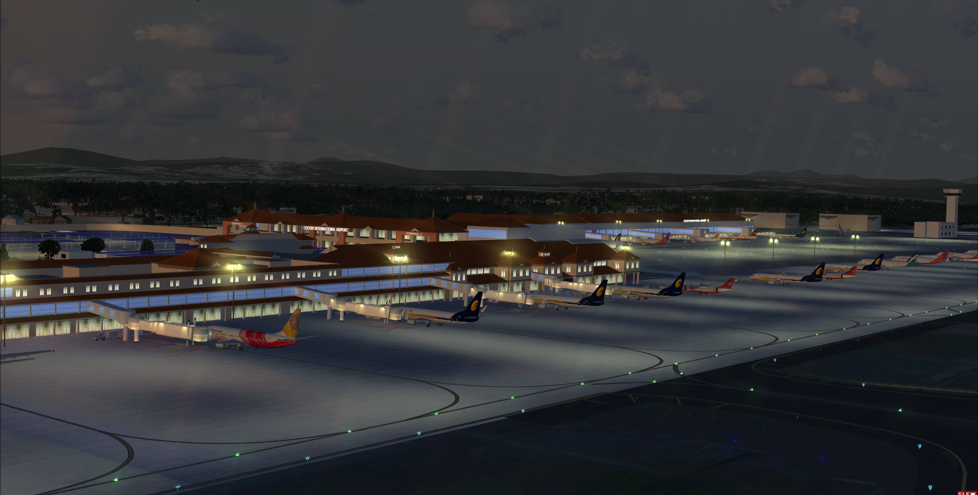 STINN PACIFIC - COCHIN INTERNATIONAL AIRPORT VOCI RELOADED P3D4