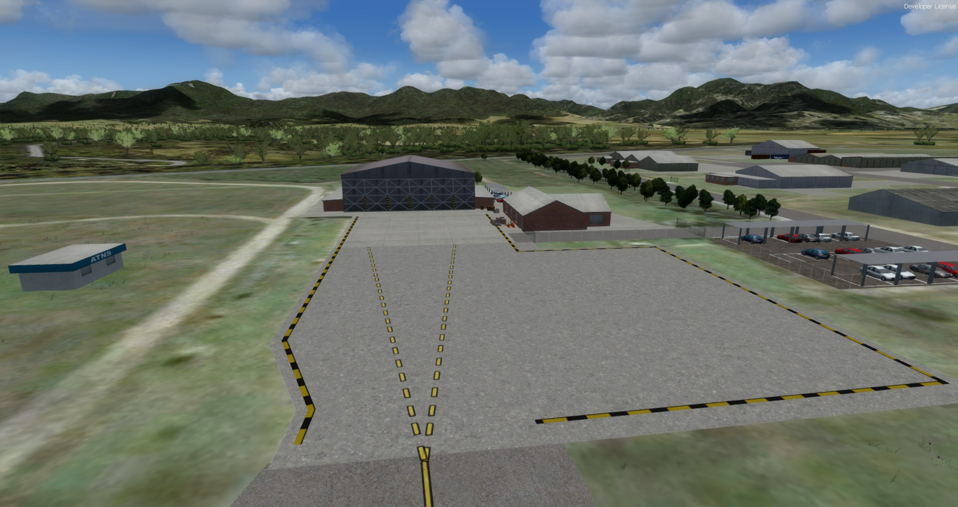 NMG SIMULATIONS - GEORGE AIRPORT P3D4