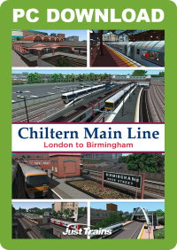 JUSTTRAINS - CHILTERN MAIN LINE LONDON TO BIRMINGHAM