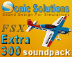 SONIC SOLUTIONS - EXTRA 300 SOUNDPACK FSX