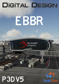 JUSTSIM - BRUSSELS AIRPORT V2.1 P3D5