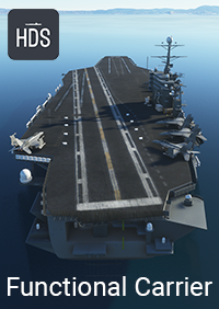 HARD DECK SIMULATIONS - FUNCTIONAL AIRCRAFT CARRIER 航空母舰 - MSFS