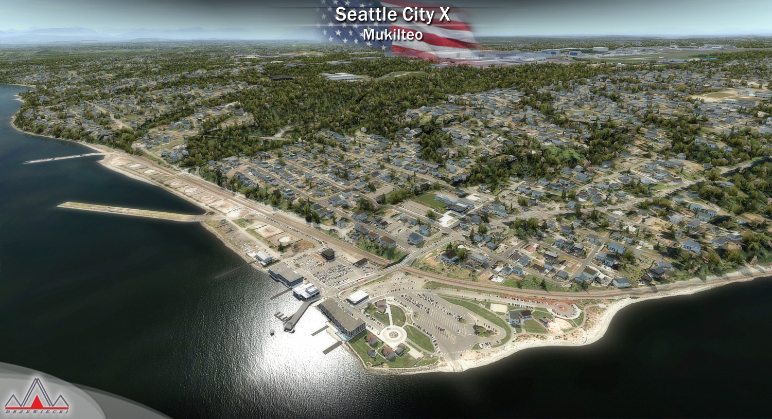 DRZEWIECKI DESIGN - SEATTLE CITY X FSX P3D