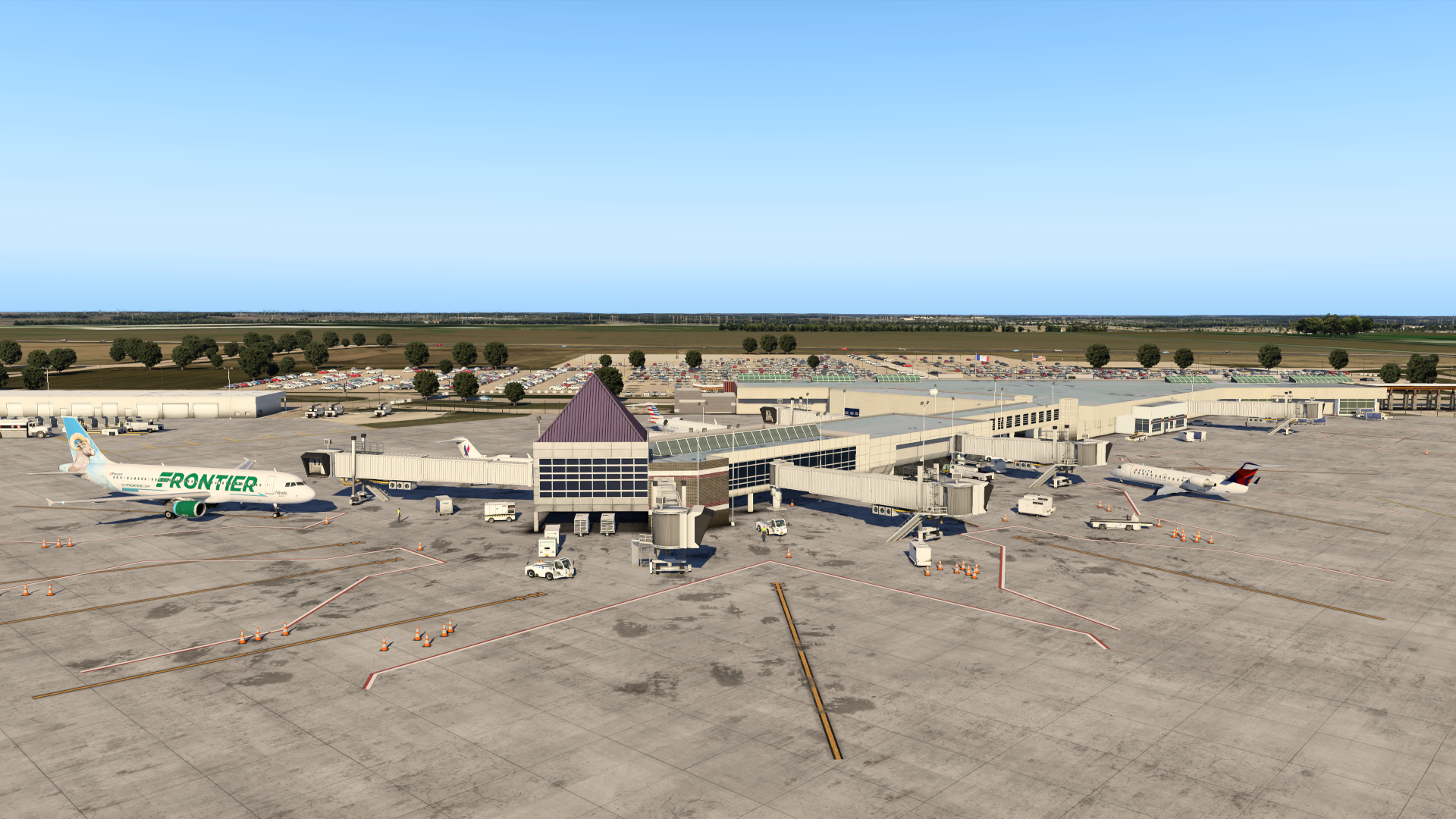 VERTICAL SIMULATIONS - KCID - EASTERN IOWA AIRPORT X-PLANE 11