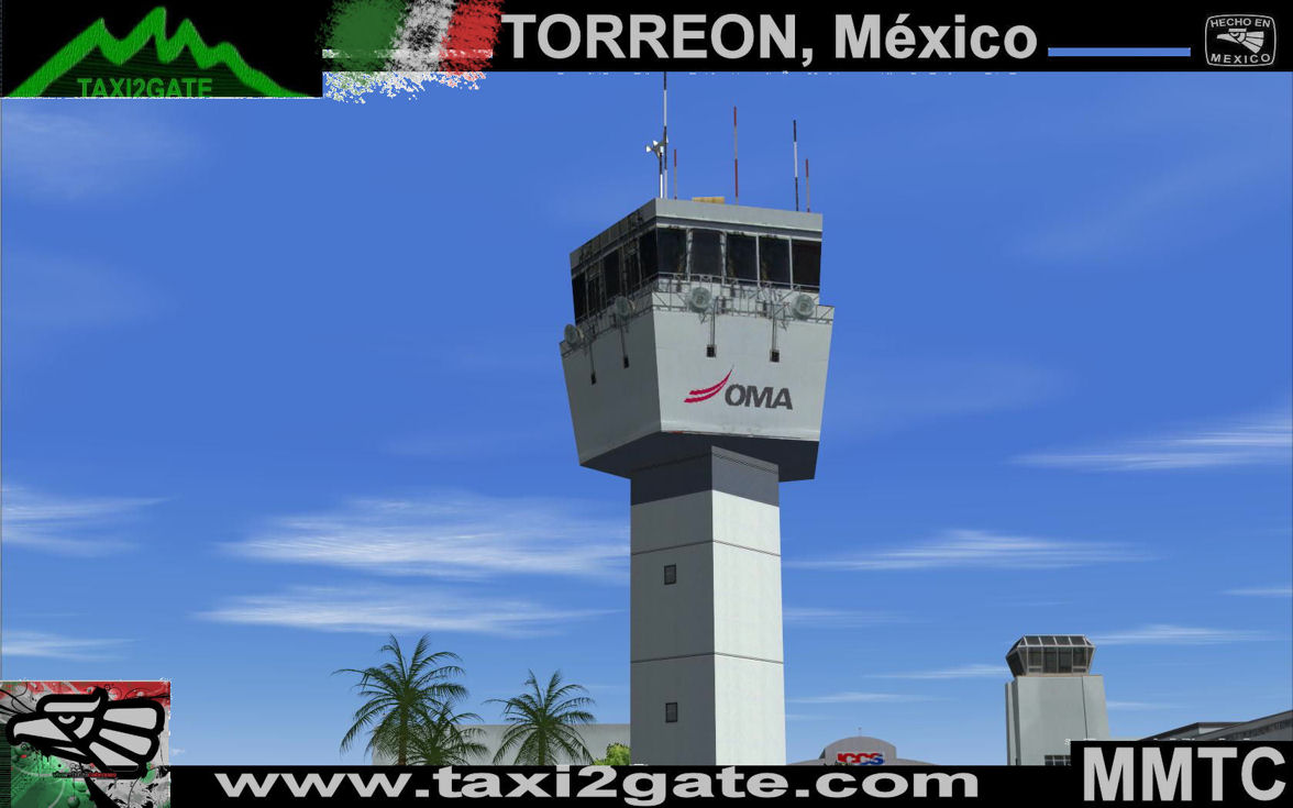 TAXI2GATE - TORREON MMTC FS2004