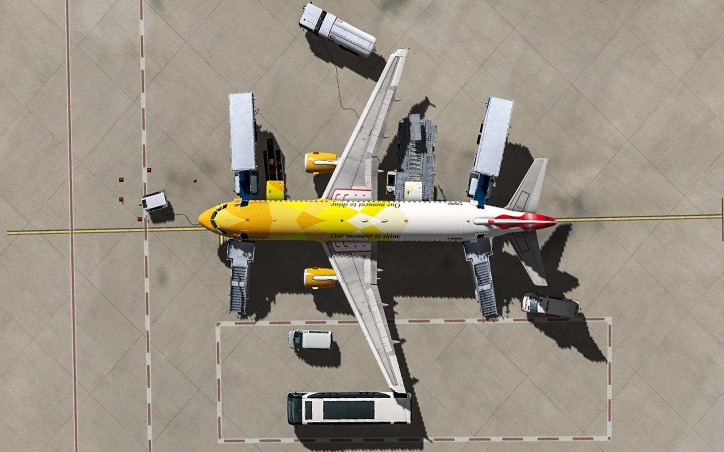 JARDESIGN - GROUND HANDLING DELUXE FOR X-PLANE 10/11
