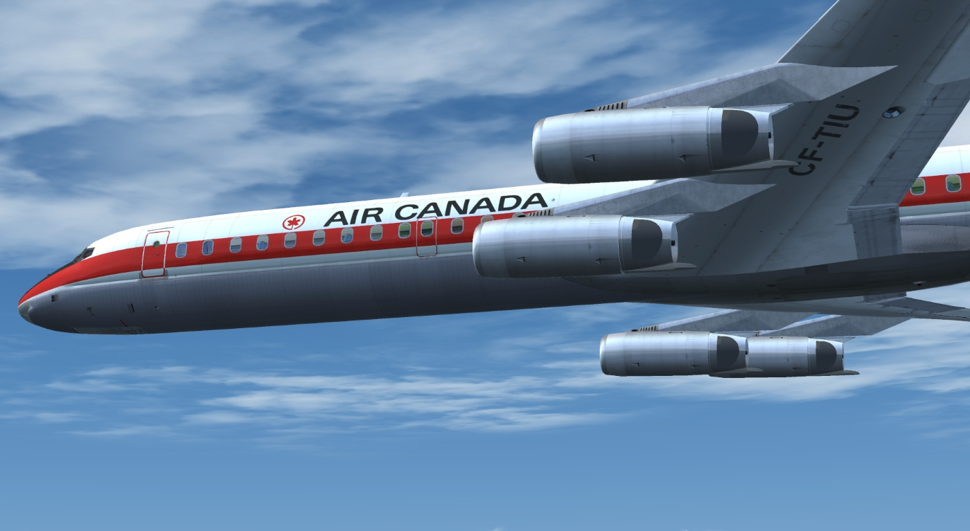 JUSTFLIGHT - DC-8 JETLINER SERIES 50-70 LIVERY PACK 2 FSX P3D