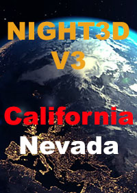 TABURET - NIGHT3D V3 FOR CALIFORNIA - NEVADA