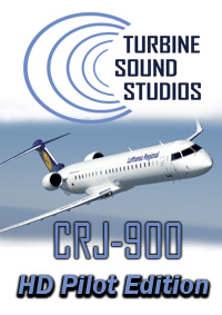 TURBINE SOUND STUDIOS - CRJ-900 HD PILOT EDITION SOUNDPACK FOR FS2004