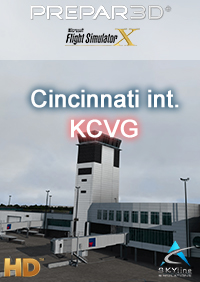SKYLINE SIMULATIONS - CINCINNATI INTERNATIONAL AIRPORT - KCVG P3D/FSX