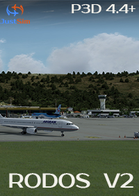JUSTSIM - RHODES INTERNATIONAL AIRPORT DIAGORAS V2 P3DV4.4+