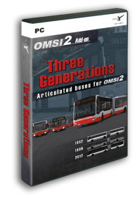 OMSI 2 - ADD-ON THREE GENERATIONS (DOWNLOAD)
