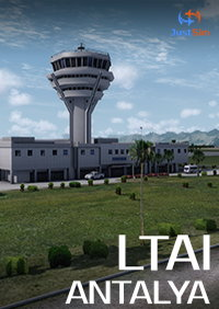 JUSTSIM - ANTALYA INTERNATIONAL AIRPORT TURKEY LTAI P3D4