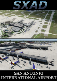 SXAIRPORTDESIGN - SAN ANTONIO INTERNATIONAL AIRPORT FSX P3D