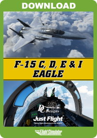JUSTFLIGHT - DC DESIGNS F-15 C, D, E & I EAGLE MSFS