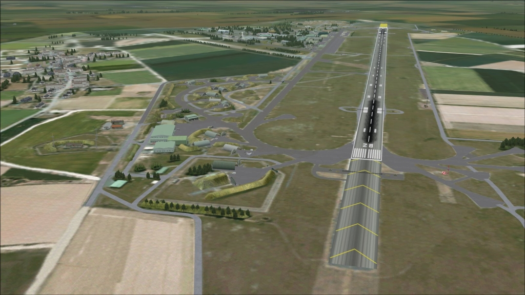 "SKYDESIGNERS - FRENCH AIRBASE 103 CAMBRAI-EPINOY ""COMMANDANT RENÉ MOUCHOTTE"" FSX"
